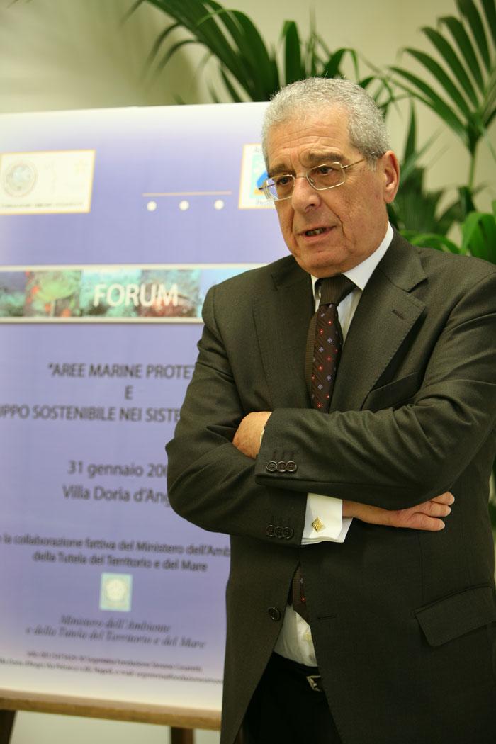 A. Cosentino  Direttore Generale Direzione per la Protezione della Natura – Ministero dell'Ambiente e della Tutela del Territorio e del Mare